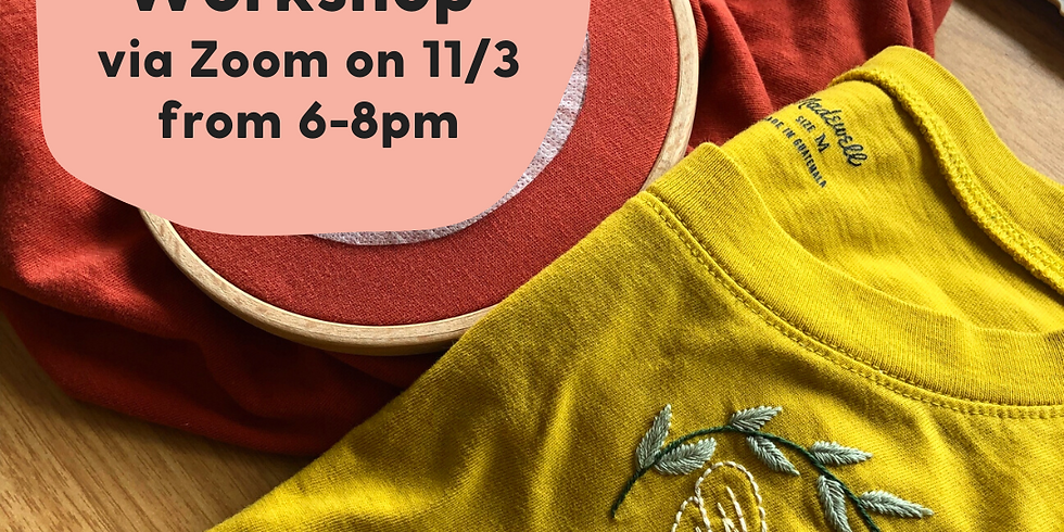 Bee T-Shirt Embroidery