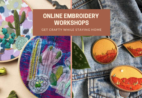 June Online Embroidery Workshops