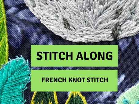 Stitch Along: French Knot Stitch