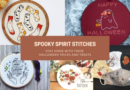Spooky Spirit Stitches: Stay Home with these Halloween Tricks and Treats