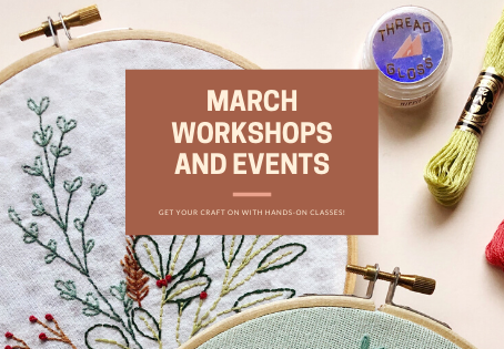 March Workshops and Events