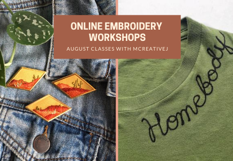 August Workshops: Try New Stitches