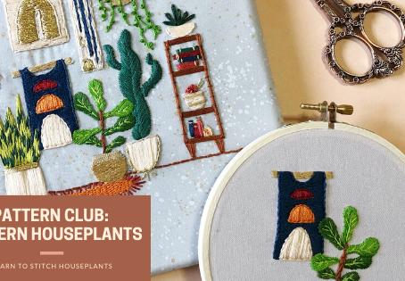 Modern Houseplants Bring Life to the June Pattern Club Designs