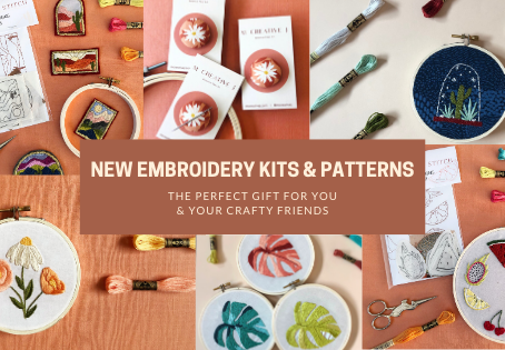 New Kits, Patterns, and Needle Minders: The Perfect Gift for You and Your Crafty Friends