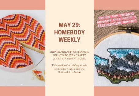 Homebody Weekly: May 29
