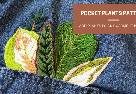 Pocket Plants: Embroider Your Clothing with Plants!