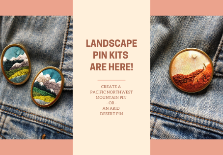 Landscape Pin Kits Are Here!