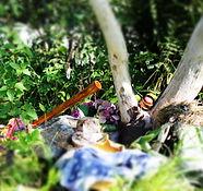 Naturaltar, Naturritual, Schwitzhütte, Zeremonie in der Natur