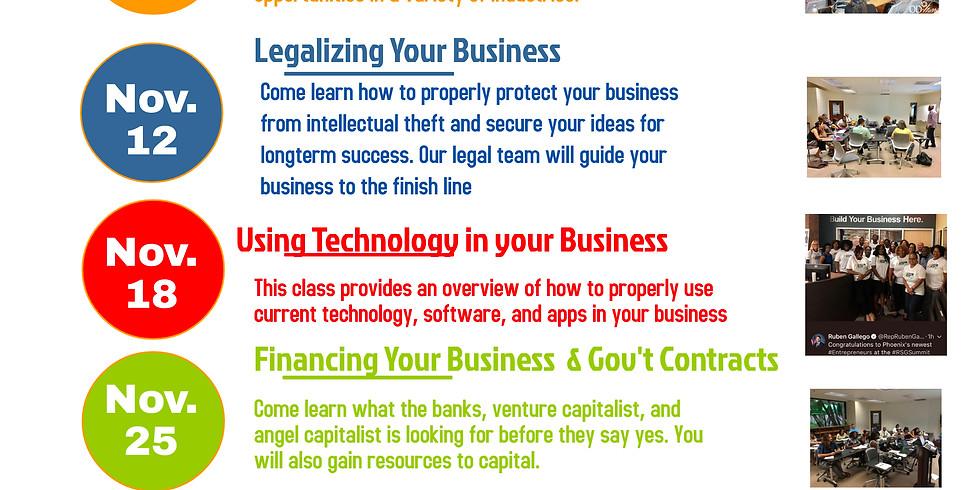 FREE 5-Week Entrepreneurial Training