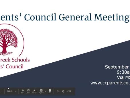 September's General Meeting Featuring Dr. Scott Siegfried