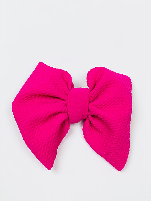 Hot Pink Clip On
