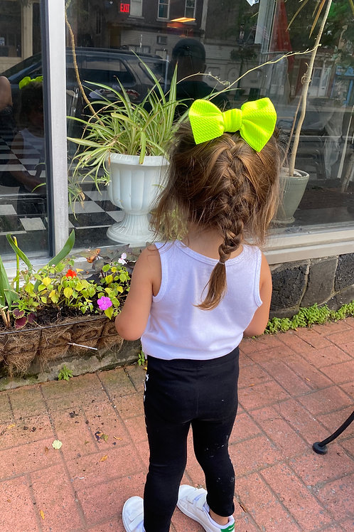 Neon Green Clip On