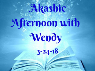Akashic Afternoon with Wendy Lipson