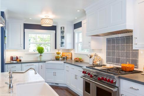 Historic Rosegarden Kitchen and Bath Remodel