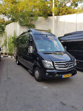 מיניבוס VIP עד 20 מקומות פנוי להסעה