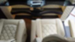 מדפים ומושבים מפוארים מיניבוס VIP