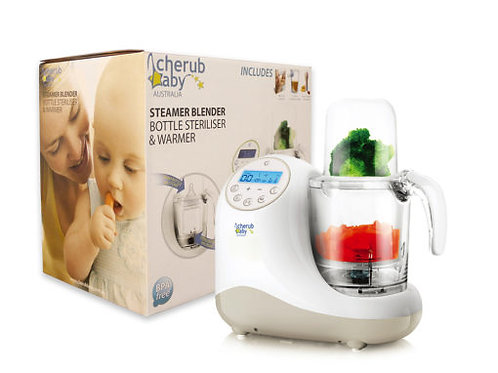 Cherub Baby 辅食机 Steamer Blender Baby Food Preparation Unit