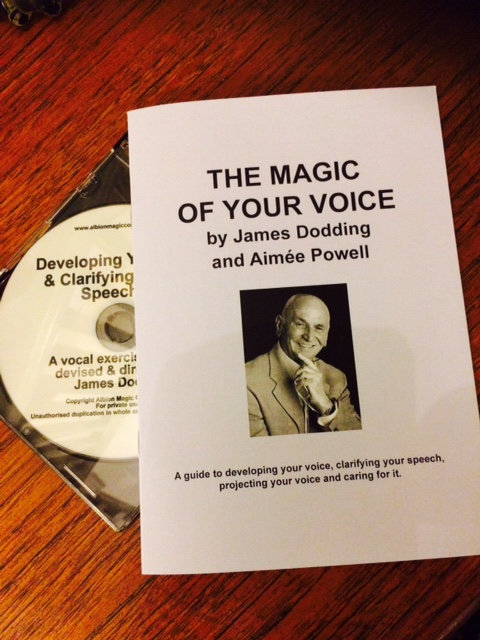 The Magic Of Your Voice Booklet And Cd (UK)