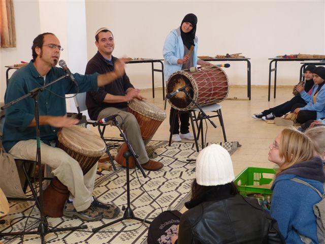 מפגש קרוב לבבות נוער ערבי - יהודי