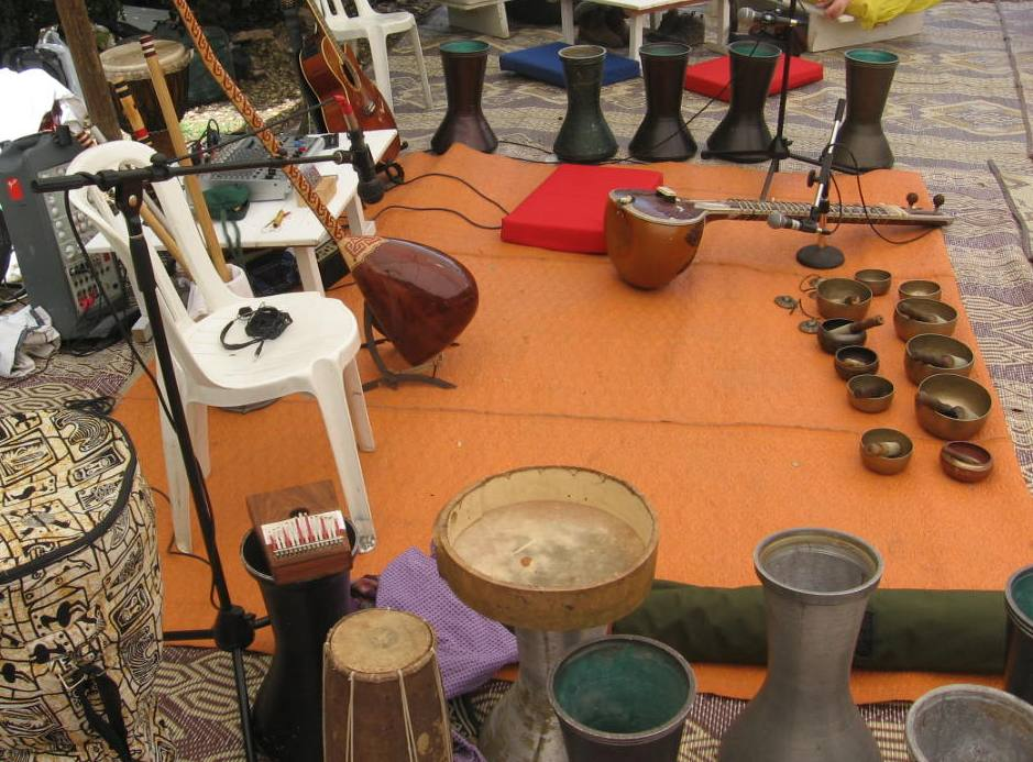 סדנת מוסיקת עולם-יער מירון
