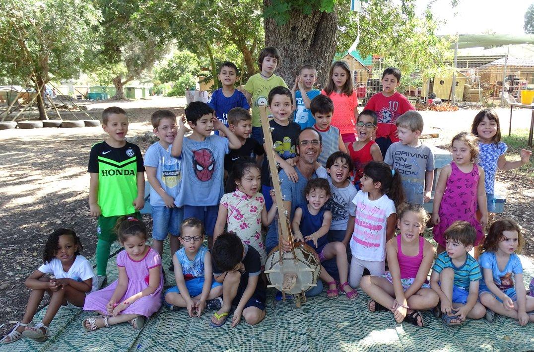 ילדי גן שיבולת רמת יוחנן