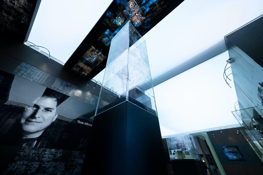 Steve Jobs 1955/2011 Exhibition _ Mec Museum design 2020 © Francesco Ferla