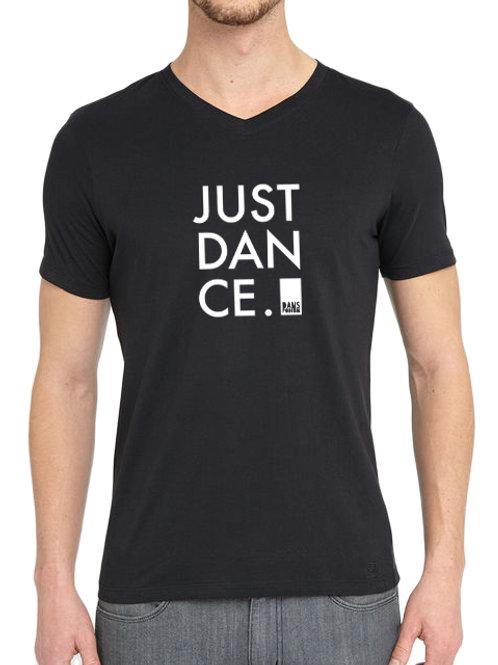 V-Hals T-shirt Heren