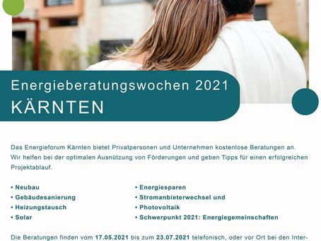 Energieberatungswochen 2021