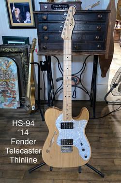 2014 Fender Telecaster Thinline