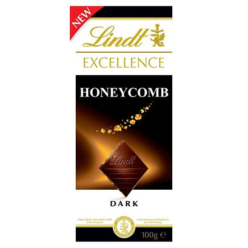 Lindt Excellence Honeycomb Chocolate Bar 100g