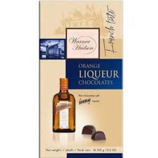 WARNER HUDSON ORANGE LIQUEUR CHOCOLATES