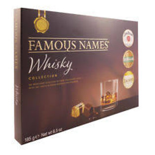Famous Names Whisky Collection (185g Box)