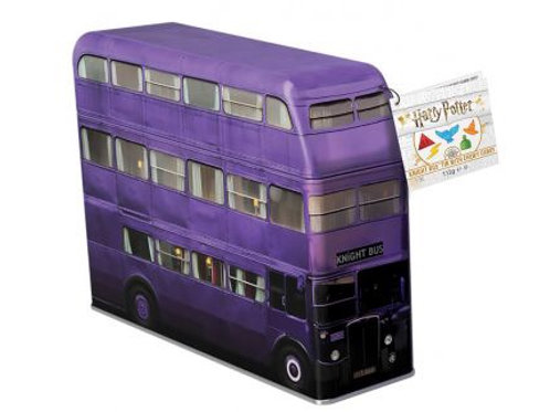 Harry Potter Knight Bus filled with magical sweets