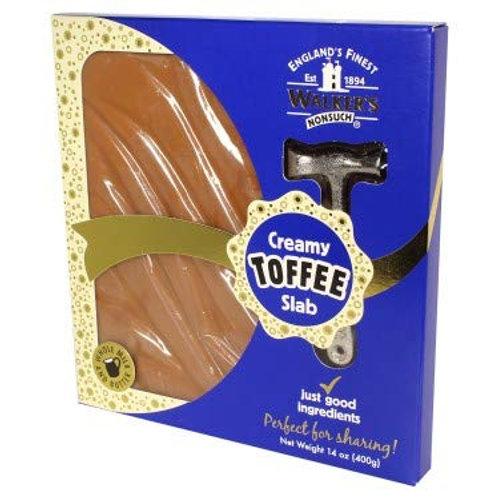 Walkers Creamy Toffee Slab (400g)