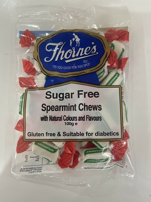 THORNE'S SPEARMINT CHEWS (SUGAR FREE)