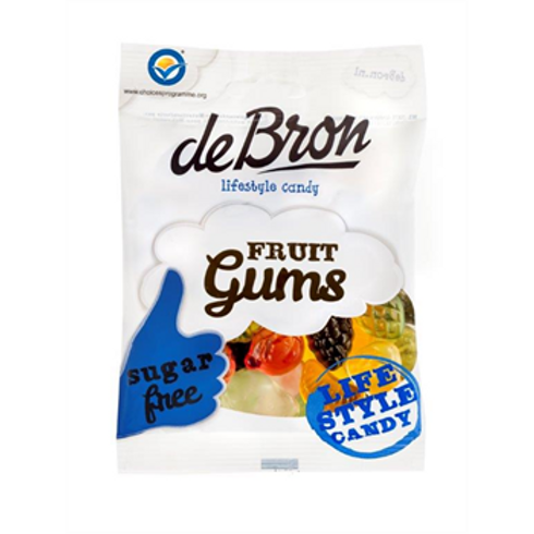 DE BRON FRUIT GUMS (SUGAR FREE)