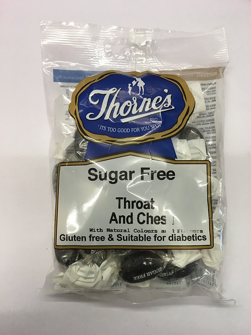 Thorne's Sugar Free Throat and Chest Sweets