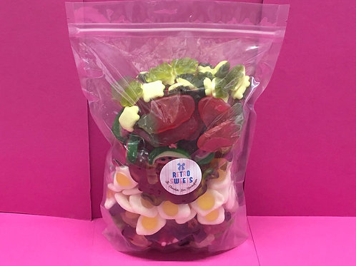 1KG HARIBO/JELLY MIX POUCH BAG