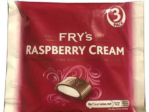 Fry's Raspberry Creams (3 Pack)