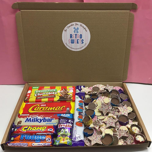 RETRO CHOCOLATE TREAT BOX