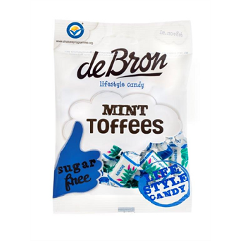 DE BRON MINT TOFFEE'S (SUGAR FREE)