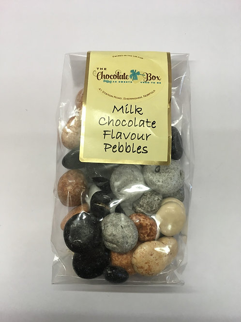 Milk Chocolate Flavour Pebbles (Bag)
