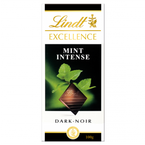 Excellence Dark Mint Intense 100g Chocolate Bar