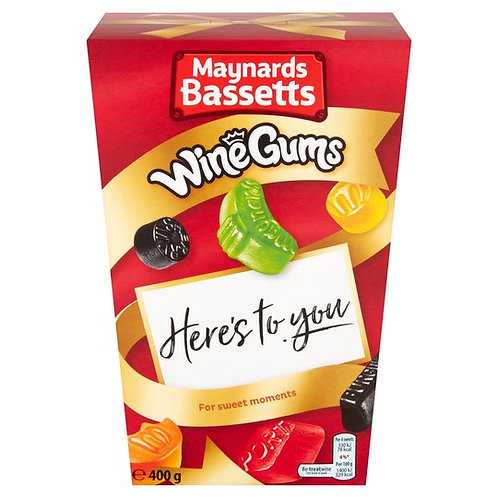 MAYNARDS BASSETTS WINE GUMS BOX (400g)