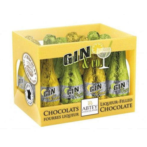 Abtey French Gin And Tonic Chocolate Liqueurs Crate