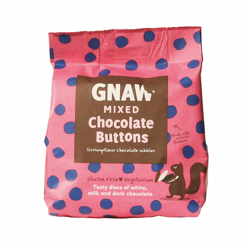 GNAW - MIXED CHOCOLATE  BUTTONS