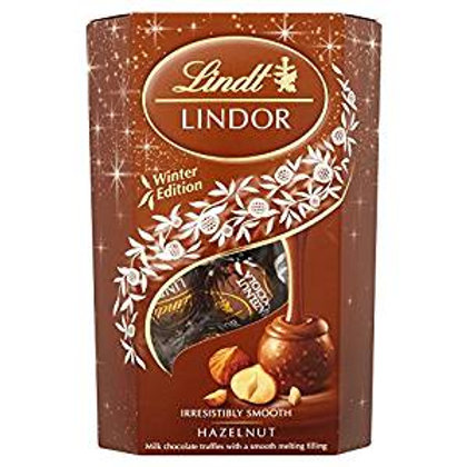 Lindt Lindors Hazelnut Milk Chocolate Box (200g Box)