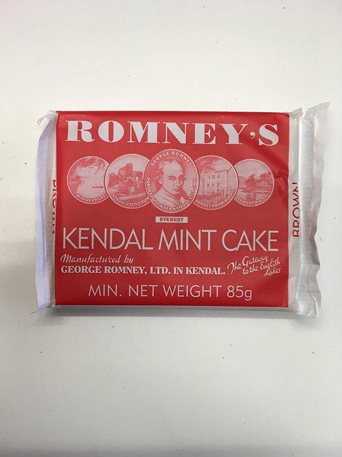 Romney's Brown Kendal Mint Cake (85g)