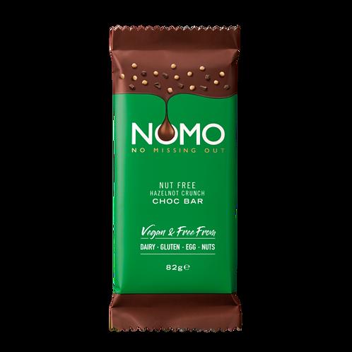 NOMO NUT FREE HAZELNOT CRUNCH CHOCOLATE BAR (82G)