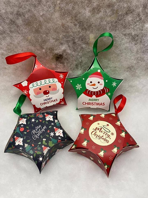 CHRISTMAS TREE STAR BOX - SWEET FILLED